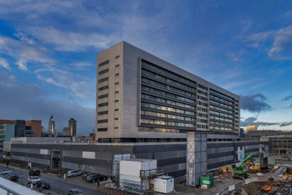 Klinikum der J.W.G.-Universität  Haus 23 6. THU-Bau Frankfurt am Main